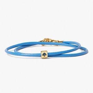 Kate Spade Leather Wrap Bracelet